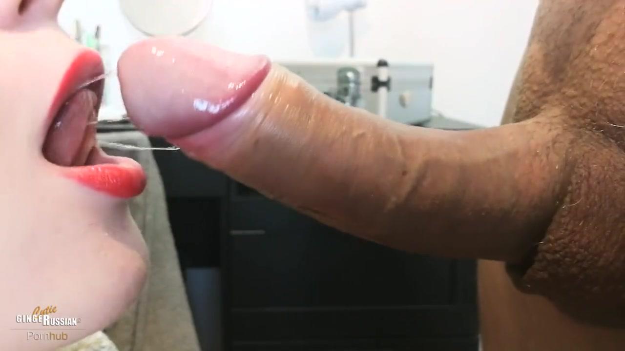 Яркая помада-сперма на губы порно видео