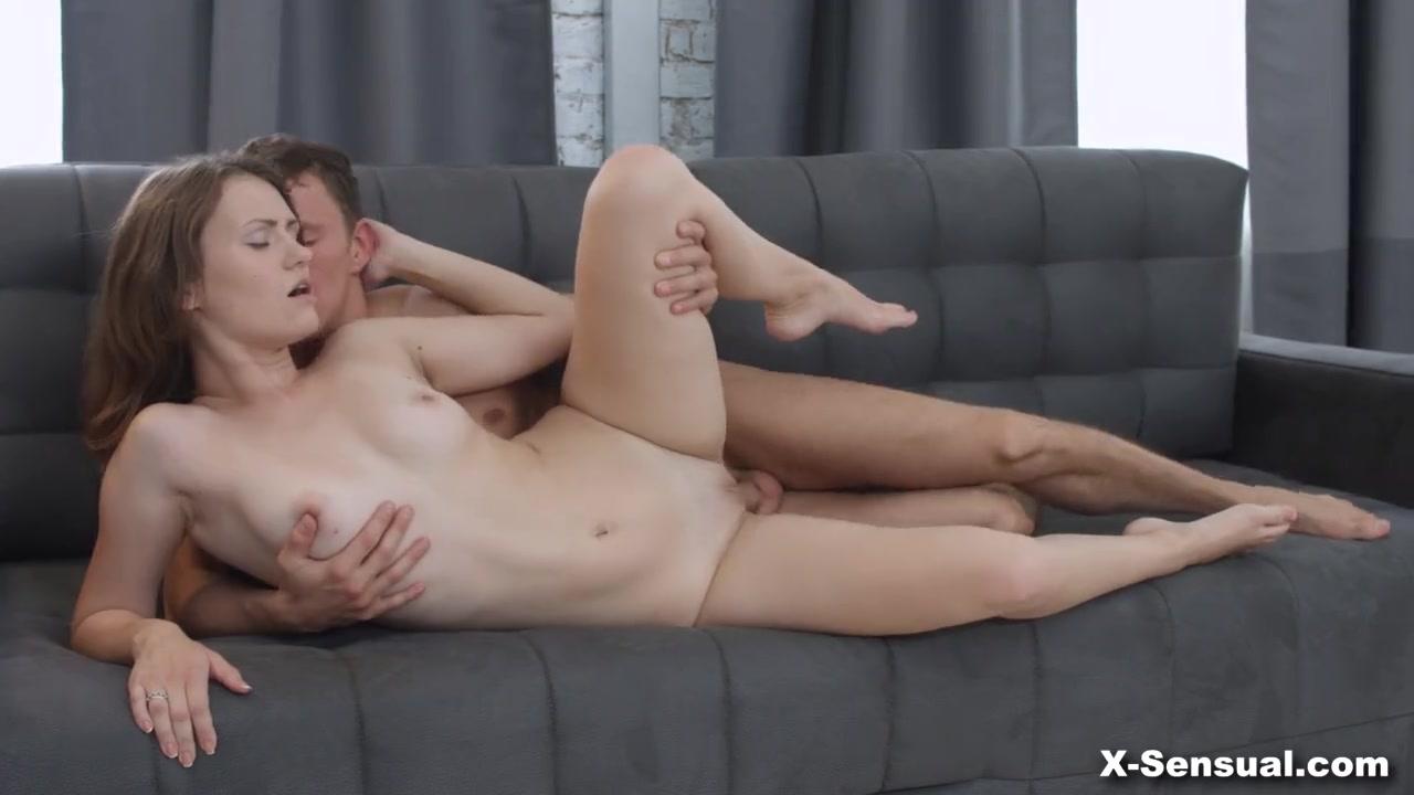 Нежный секс с красоткой